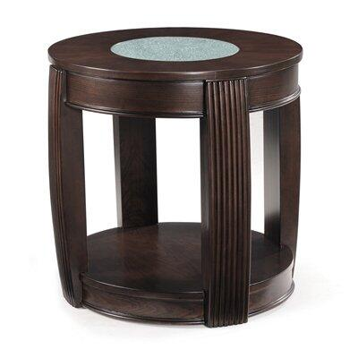 Magnussen T173807 Ino Series Transitional Oval End Table