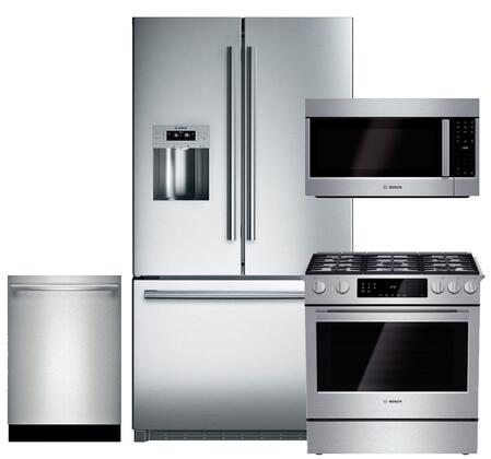 Bosch BOS4PCFSFDGFISSKIT1 800 Kitchen Appliance Packages