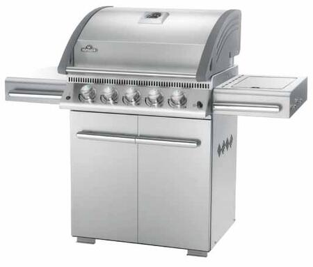 Napoleon L485RSBNSS All Refrigerator Natural Gas Grill