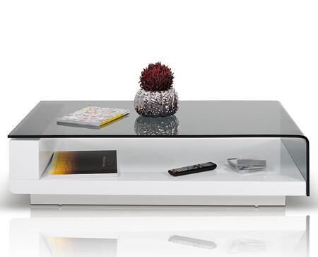 VIG Furniture VGHB676A1 White Modern Table