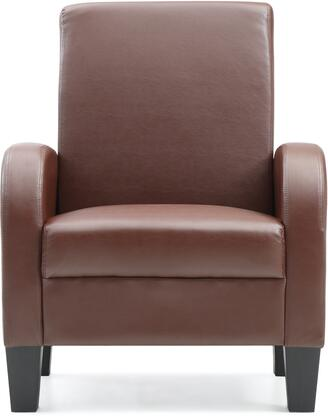 Glory Furniture G101C Newbury Series Armchair Faux Leather Accent Chair