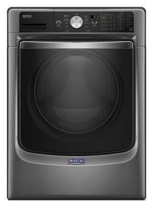"""Maytag MHW8200F 27"""" Energy Star, ADA Compliant Front Load Washer with 4.5 cu. ft. Capacity, PowerWash System, Fresh Hold Option, Overnight Wash/Dry Cycle and Steam Option:"""