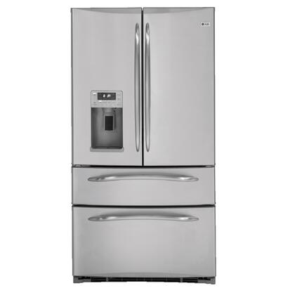GE Profile PGCS1RKZSS Profile Series  French Door Refrigerator with 20.7 cu. ft. Total Capacity 6 Glass Shelves