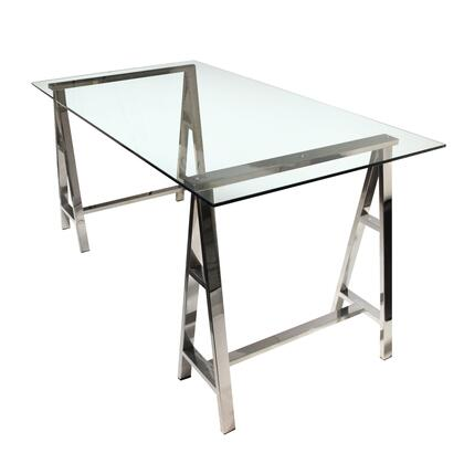 Diamond Sofa DEKODEST Deko Series Writing  Metal Desk