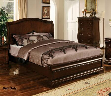 Furniture of America CM7503EKBED Brunswick Series  King Size Bed