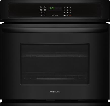 """Frigidaire FFEW3026T 30"""" Star K Certified Single Wall Oven with 4.6 cu. ft. Capacity, 2 Oven Racks, Keep Warm Setting, ADA Compliant, and Vari Broil Option, in"""