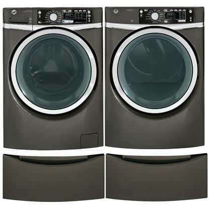 GE GHWS3605FMCPEDPAIR1 Washer and Dryer Combos