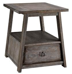 Stein World 124021 Craftsman Series Contemporary Rectangular 1 Drawers End Table