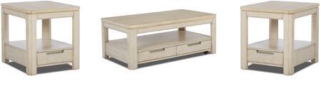 Klaussner 628KL3PCRC2REKIT1 Monterey Living Room Table Sets