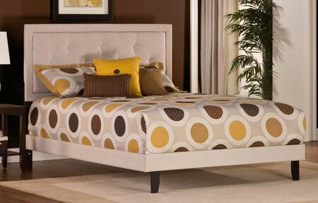 Hillsdale Furniture 1299BFRB Becker Series  Full Size Panel Bed