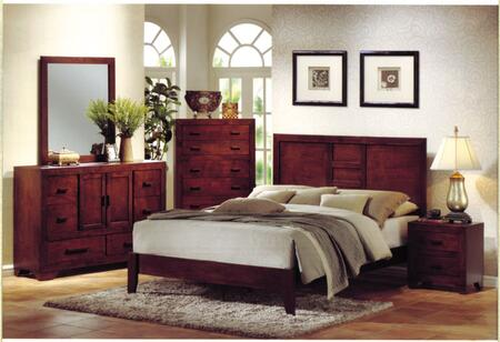 Yuan Tai AV5400Q Avery Series  Queen Size Panel Bed