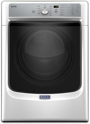 "Maytag MED8200 27"" Energy Star, ADA Compliant Electric Dryer with 7.4 cu. ft. Capacity, PowerDry System, Rapid Dry Cycle and Sanitize Cycle, in"
