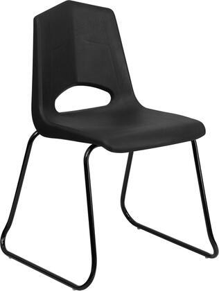 "Flash Furniture FDBLKBKGG 20.5"" Contemporary Office Chair"