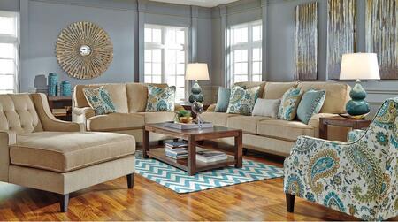 Milo Italia MI9130SET4PCBISQ Jaydan Living Room Sets