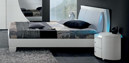 ESF Tango Collection i177-X Bed in White