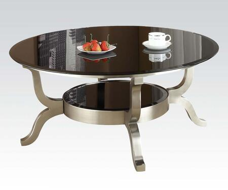 Acme Furniture 80005 Chrome Contemporary Table