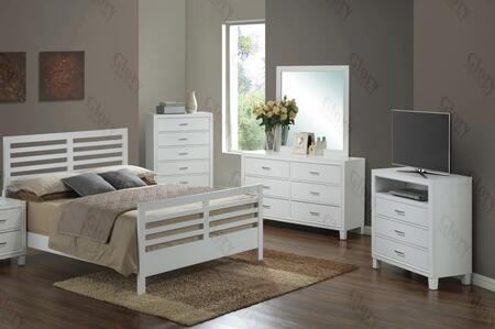 Glory Furniture G1275CKB2DMTV G1275 King Bedroom Sets