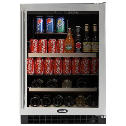 "Marvel 6BARMBSGR Built In Compact 14 23.875"" Wine Cooler 