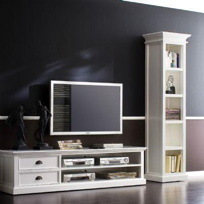 Infinita 814495011416 Halifax Series Wood 4-5 Shelves Bookcase