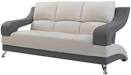 Glory Furniture G244S  Stationary Faux Leather Sofa