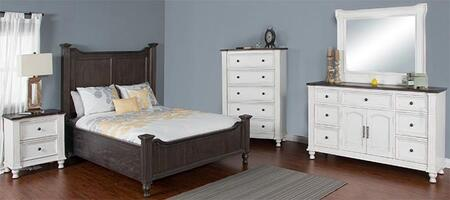 Sunny Designs 2308ECDBMN Carriage House Bedroom Sets
