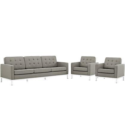 Modway EEI2439GRASET Fabric Living Room Set