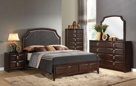 Acme Furniture 24567EK5PC Lancaster King Bedroom Sets