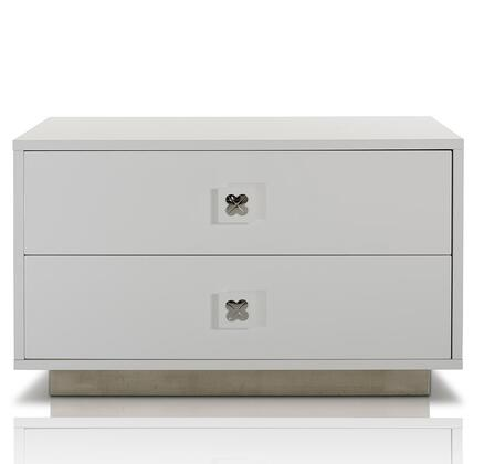 VIG Furniture VGUNAW32480 A & X Monica Series Rectangular Wood Night Stand