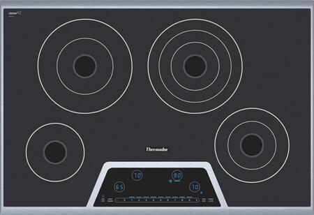 Thermador CET304FS Masterpiece Deluxe Series Electric Cooktop, in Stainless Steel