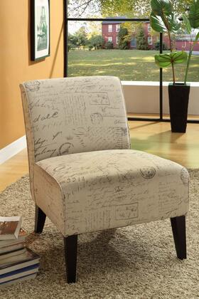Armen Living LC2124VIFR Fabric Armless with Wood Frame