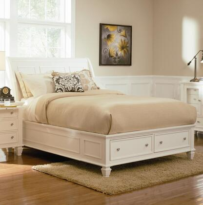 Coaster 201309KW Sandy Beach Series  California King Size Sleigh Bed