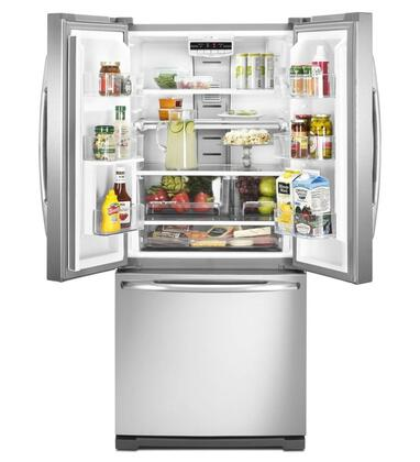 Maytag Mfw2055yew French Door Refrigerator With 19 6 Cu