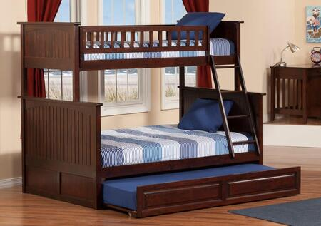 Atlantic Furniture AB59234  Twin over Full Size Bunk Bed