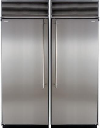 Marvel M60CRFSS Side-By-Side Refrigerators
