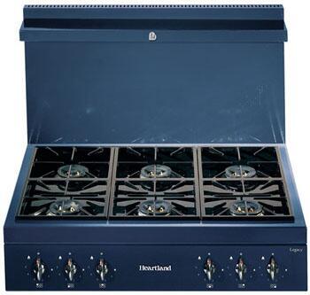 Heartland 382006NG  Gas Sealed Burner Style Cooktop, in Black