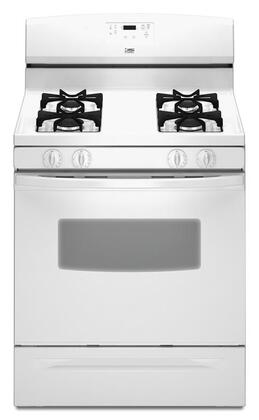 Whirlpool TGS325VQ  Gas Freestanding Range with Sealed Burner Cooktop, 4.7 cu. ft. Primary Oven Capacity, Storage in White