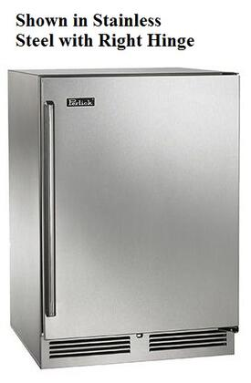 "Perlick HP24R -Use 24"" Signature Series 5.2 cu. ft. Capacity Stainless Steel Refrigerator with"