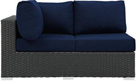 Modway EEI1858CHCNAV  Patio Love Seat