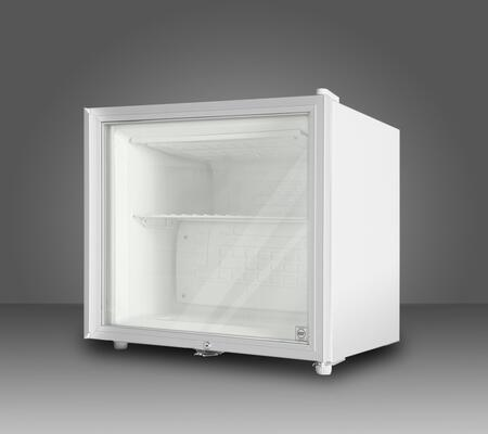 Summit FS20L7GL  Freezer with 1.4 c.f. Capacity in White