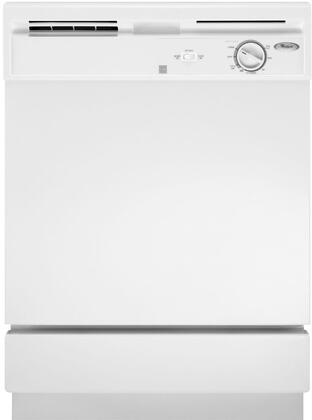 "Whirlpool DU811SWPQ 24"" Built-In Full Console Dishwasher"
