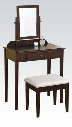 Acme Furniture 90040 Jamy Series Wood 1 Drawers Vanity