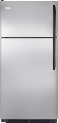 Frigidaire FFHT1816LK Freestanding Top Freezer Refrigerator with 18.2 cu. ft. Total Capacity 2 Glass Shelves 4.07 cu. ft. Freezer Capacity