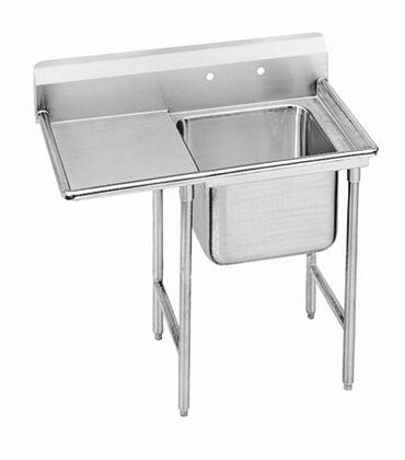Advance Tabco One Compartment, Left Side Drainboard