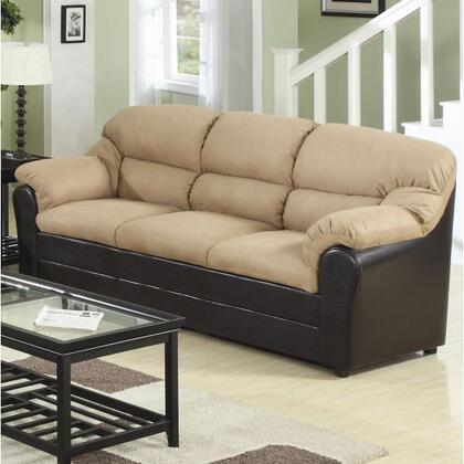 Coaster 501881N  Stationary Micrfiber Sofa