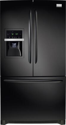 "Frigidaire Gallery FGHB2844L 36"" 27.8 cu. ft. Freestanding French Door Refrigerator With Humidity-Controlled Crisper Drawers, Energy Saver Plus Cycle and Quiet Design:"