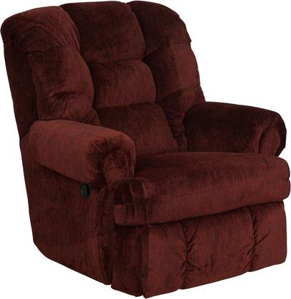Flash Furniture AM99301453GG Contemporary Boone Series Contemporary Polyblend Wood Frame  Recliners