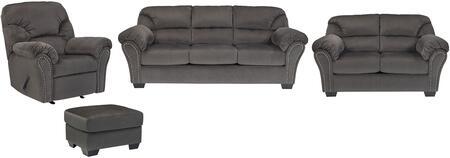 Milo Italia MI9042SLROCHAR Madison Living Room Sets