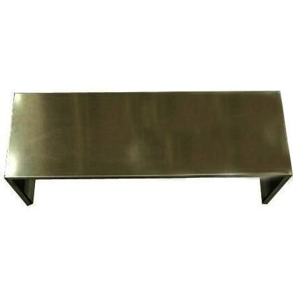 "Trade-Wind DC60X 60"" Wide Stainless Steel Duct Cover - "" High"