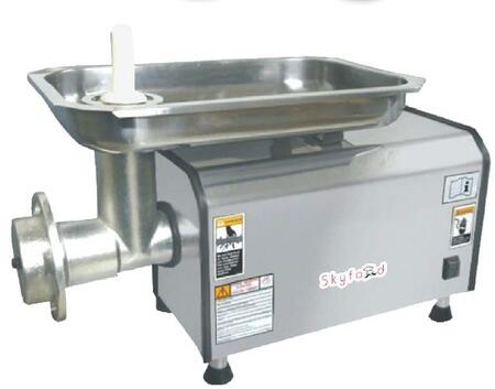 Skyfood PSE Table Top Meat Grinder with One Knife and Two Plates in Stainless Steel