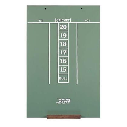 "DMI Darts SCOR 23.5"" x 15.5"" Scoreboard Screened for Easy Scoring of Cricket and '01"